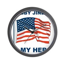 BOBBY JINDAL IS MY HERO Wall Clock