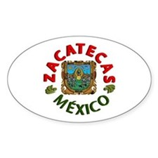 Zacatecas Oval Decal