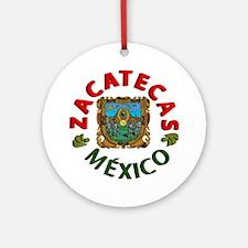 Zacatecas Ornament (Round)