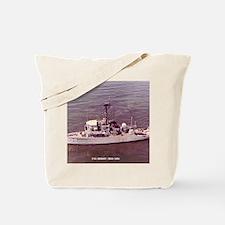 uss adroit framed panel print Tote Bag