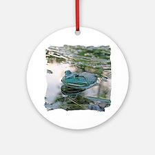 Bullfrog Round Ornament