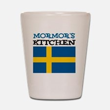 Mormors Kitchen Apron Shot Glass
