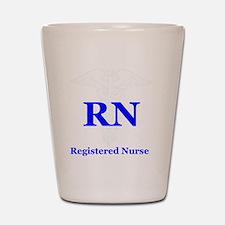 Bachelors of Nursing Shot Glass