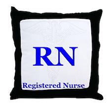 Bachelors of Nursing Throw Pillow