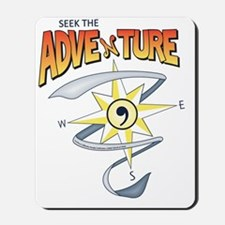 Seek The Adventure! Summer 2012 (color) Mousepad