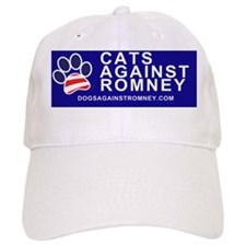 Dogs Against Romney Cats Against Romney bumper Cap