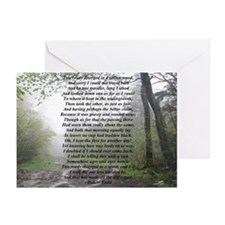 Road Less Taken Greeting Cards (Pk of 10)