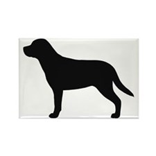 Greater Swiss Mountain Dog Rectangle Magnet