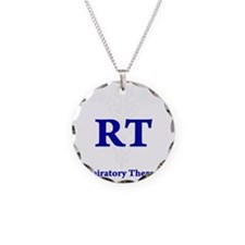 Respiratory Therapist Necklace Circle Charm