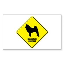 Spitz Crossing Rectangle Decal