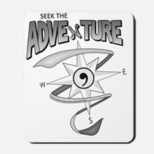 Seek The Adventure Summer 2012 (black an Mousepad