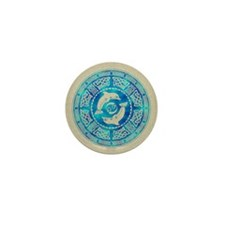 Celtic Dolphins Mini Button (10 pack)