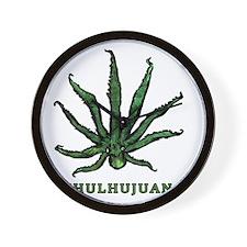 Cthulhujuana Wall Clock