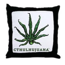 Cthulhujuana Throw Pillow