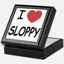 I heart SLOPPY Keepsake Box