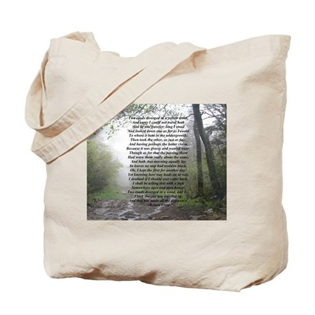 Road Less Taken Tote Bag