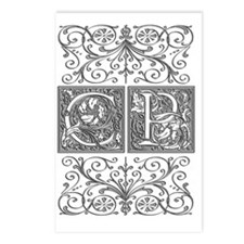 CP, initials, Postcards (Package of 8)