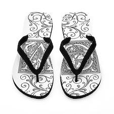 CV, initials, Flip Flops