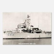 uss aggressive calendar Postcards (Package of 8)