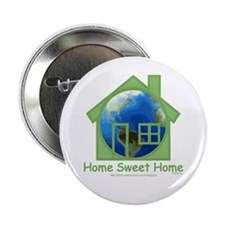 """Earth House 2.25"""" Button (10 pack)"""