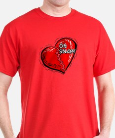 Oh Snap! Broken Heart / Anti- T-Shirt
