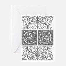 CO, initials, Greeting Card