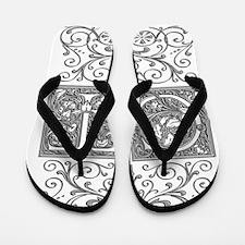 CT, initials, Flip Flops