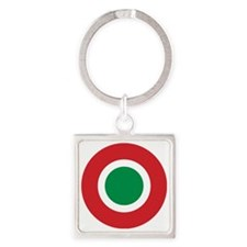 Italy Square Keychain
