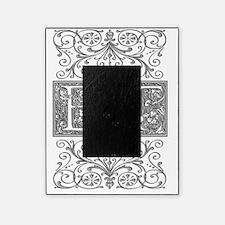 ET, initials, Picture Frame