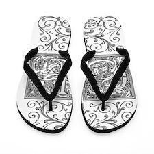 GP, initials, Flip Flops