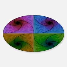 Quadmazing Sticker (Oval)