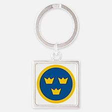 Sweden Square Keychain