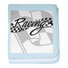 Racing Flag baby blanket