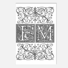 FM, initials, Postcards (Package of 8)