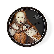Elizabeth I Coronation Wall Clock