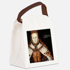 Elizabeth I Coronation Canvas Lunch Bag