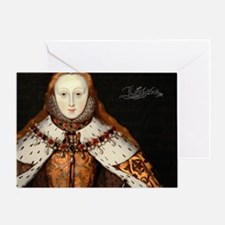 Elizabeth I Coronation Greeting Card