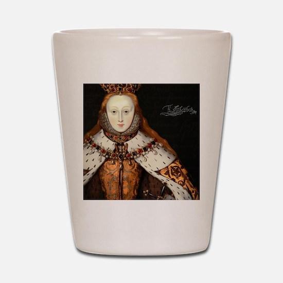 Elizabeth I Coronation Shot Glass