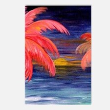 Pink Palms Postcards (Package of 8)