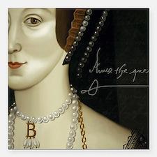 """Anne Boleyn Square Car Magnet 3"""" x 3"""""""