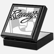 Racing Flag Keepsake Box