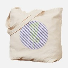 Disc Golfers Association Typography Tote Bag