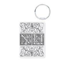 NH, initials, Keychains