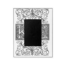 KU, initials, Picture Frame