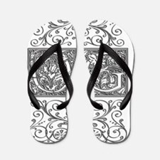 OG, initials, Flip Flops