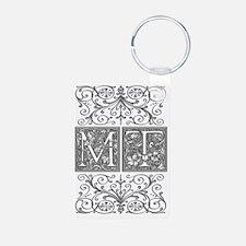 MT, initials, Keychains