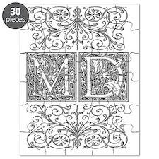 MD, initials, Puzzle