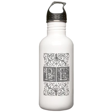PE, initials, Stainless Water Bottle 1.0L