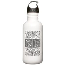 NF, initials, Water Bottle