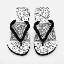 MU, initials, Flip Flops